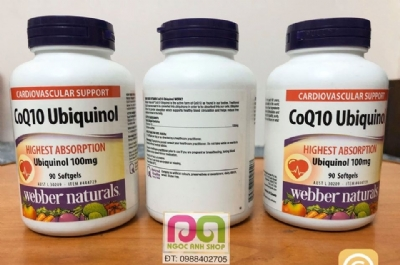 Ubiquinol 100 mg QH Active CoQ10