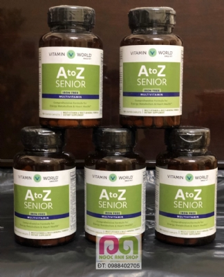 A to Z Senior Multivitamins Iron Free