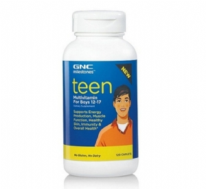Teen Multivitamin For Boys 12-17 GNC Milestones 120 Viên