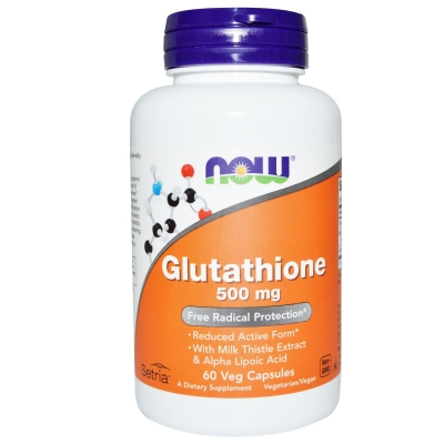 Now Foods Glutathione 500 mg